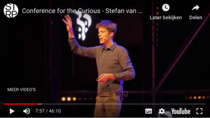 Conference for the Curious  met Stefan van der Stigchel