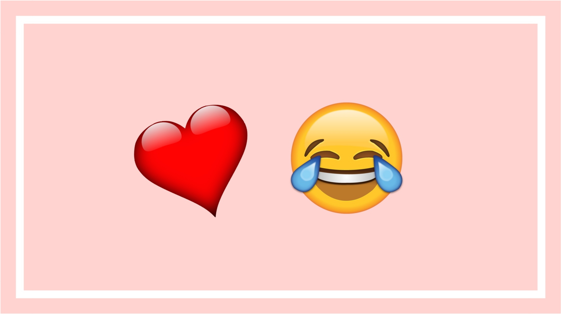 Waarom emoji zo perfect zijn voor ironische millenials