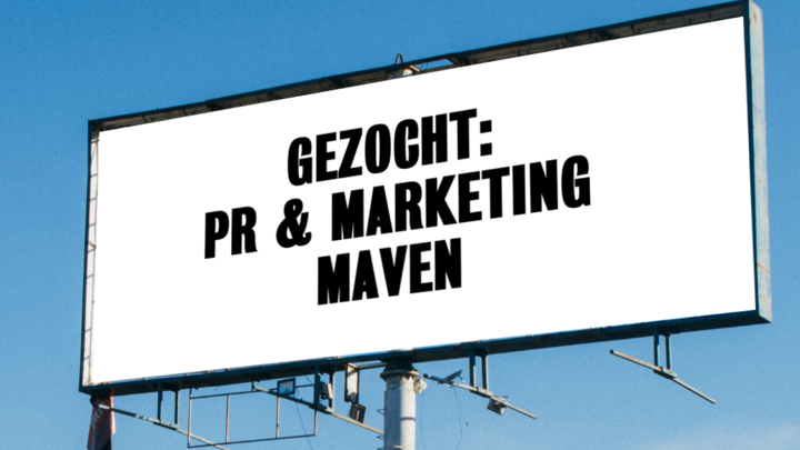 Maven zoekt pr- en marketingmanager!